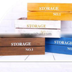 Wholesale Wood Box Fruit Crate Wooden Vegetable Crates