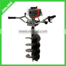 Double Handle Manual Ground Drill Earth Auger 300mm