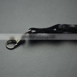 Mass supply brilliant quality ego lanyard with ring clip