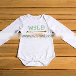 Long Sleeve Infant Baby Jumpsuit boutique baby velantines cotton romper new kids fall holiday cloth