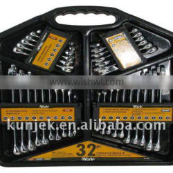32 PC COMBINATION WRENCH SET