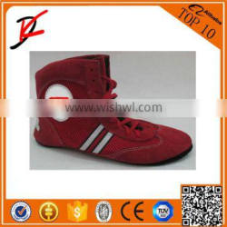 Sambo wrestling cow suede leather shoes uniform endorsed by Russian Sambo Federation
