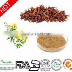 100% Natural High quality Catclaw Buttercup Root Tuber extract powder/3%--5%Alkaloids