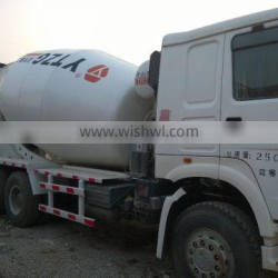 used excellent mixer truck howo 9 m3 in shanghai