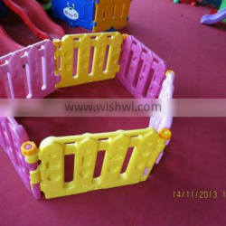 plastic fence for kids/ children indoor playground play fence