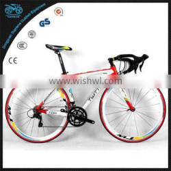 No foldable and 18 speeds road bike china