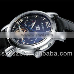 Magnificent Men's Stainless Steel Automatic Mechanical Watch With Calendar