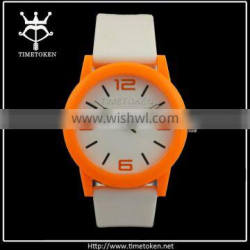 Hot New Promotional Silicone Jelly Watch Flexible Sports Men's Watch