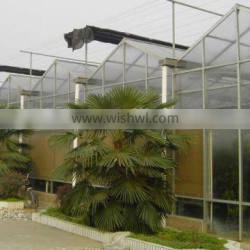 Around the outside shading sunlight greenhouse intelligent ventilation system