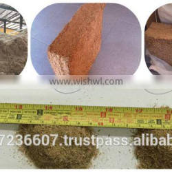 bagasse block for animal feed