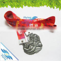 made in china great quality smooth touch free sample medal ribbon lanyards