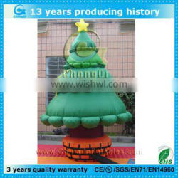 2014 factory price cheapest inflatable christmas tree