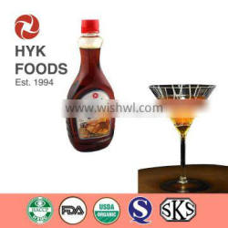 hot sale long-neck bottle pancake flavor syrup