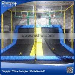 China factory TUV/ASTM/CE certificate free design cheap high quality indoor skywalker trampoline