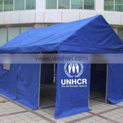 Factory directly safty and stable disaster relief tent refugee tent