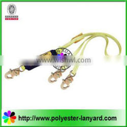 two clips lanyard