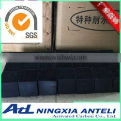 Clean Room Honeycomb Activated Carbon Air Filter Media