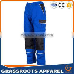 custom Heavy Duty Cargo men work pants with knee pad