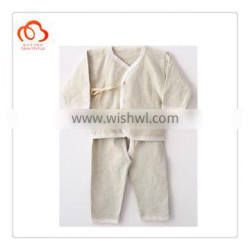 100% organic cotton baby clothing in natural colors