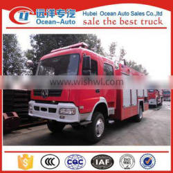 Dongfeng new rescue truck, fire fighting truck with 6000L capacity for sale