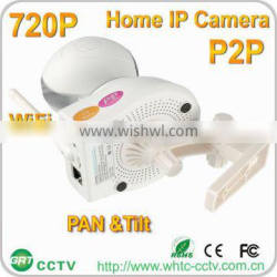 Motion Detection alarm two way Audio p2p 720p smart home night vision ip camera wireless wired camera
