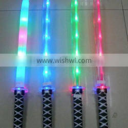 cosplay flashing LED light sword for kids playing