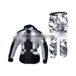 Also available in Cordura, two Piece Motorcycle Suit