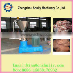 Pig skin slurry machine/high efficiency cattle bone grinding machine
