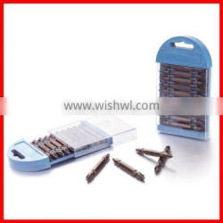 10pc 65mm Double End Power Bit Set