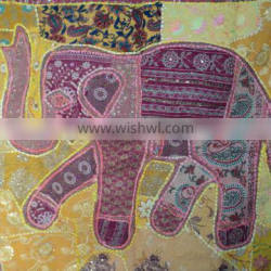 patchwork wall hangings elephant model-3