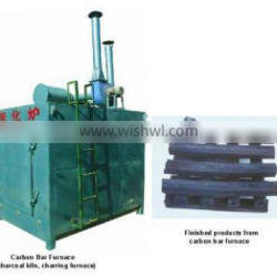 Coconut shell charcoal carbonization furnace