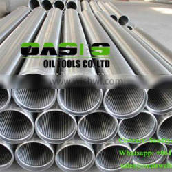 Rod based water well screens for water well drilling