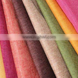 Style woven linen curtain fabric sand release