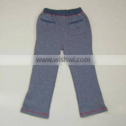 R&H 100% Cotton boys long trousers with velour lining
