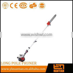 Gasoline long pole pruner