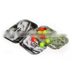 Tinplate Fruit tray metal cans with sample free