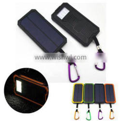 8000 to 10000mah full capacity portable cellphone solar charger for mobile cell phone