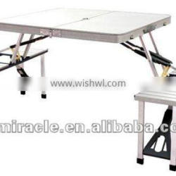 Aluminium Camping Table with chair/picnic table