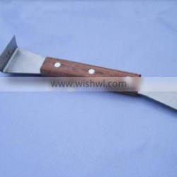 beekeeping equipment uncapping knife chisel with wooden handle