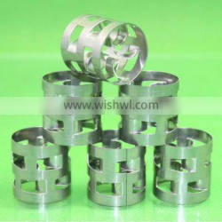 Metal pall ring used in cooling tower