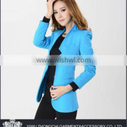 polyester blend rayon blue latest ladies suit