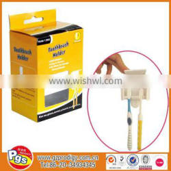 Removable bathroom products/adhesive toothbrush holder/houseware bathroom items for home