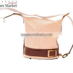 Bucket backpack purse transformable in bucketbag handbags italian bags genuine leather florence leather fashion