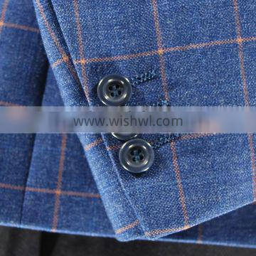 2016 new fashion design suits for man