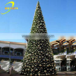 New products 2016 led tree outdoor metal christmas trees
