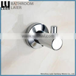 11935 hot sell hotel equipment bathroom accessory set wall mount robe hook