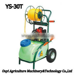 China Supplier Electric Garden Cart Plastic Water Tank Machine Power Sprayer with Gasoline Engine Trolley YS-30T