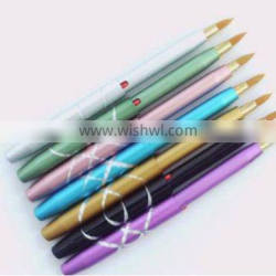 retractable make up lip brush,synthetic hair brushes