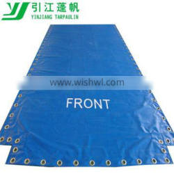 heavy duty pvc container Truck cover tarpaulin