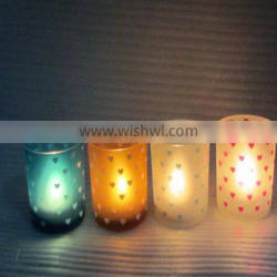 2016 cheapest bulk glass candlestick holders,soy candle jar